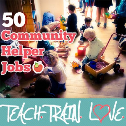 50 Cute and Clever 'Community Helper' Jobs