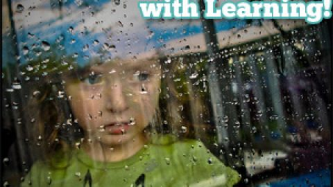 Rainy Day:  Beat the Blues with Learning