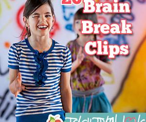 20 Brain Break Clips:  Fight the Fidgeting!