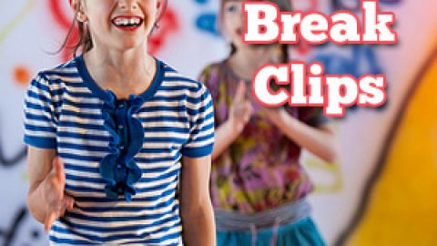 20 Brain Break Clips:  Fight the Fidgeting!