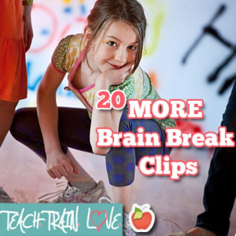 20 Brain Break Clips:  Movin' and Groovin'!