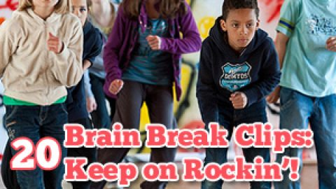 20 Brain Break Clips:  Keep on Rockin'!