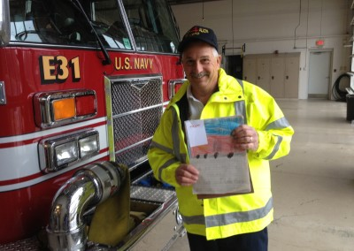 Thankful Letters to Fire Station