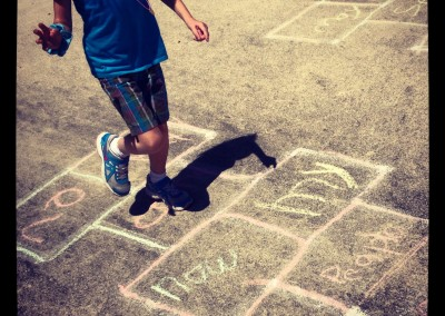 Sight Word Hopscotch