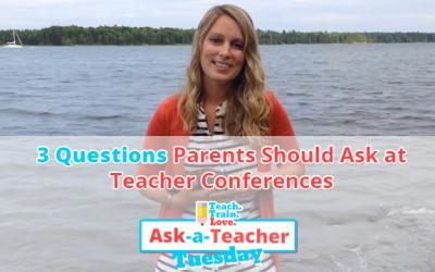 AATT:  3 Questions Parents Should Ask at Teacher Conferences
