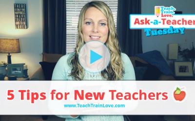 AATT:  5 Tips for New Teachers