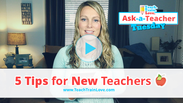 AATT:  5 Tips for New Teachers