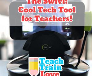 The Swivl:  Cool Tech Tool for Teachers!