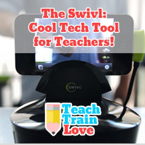 The Swivl:  Cool Tech Tool for Teachers!