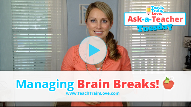 AATT:  Managing Brain Breaks