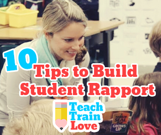 10 tips to build student rapport