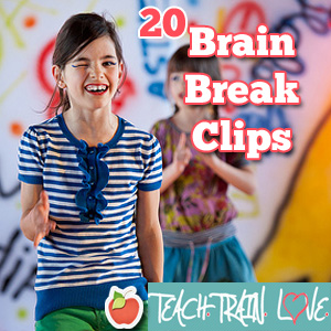20 Brain Breaks:  Fight the Fidgeting