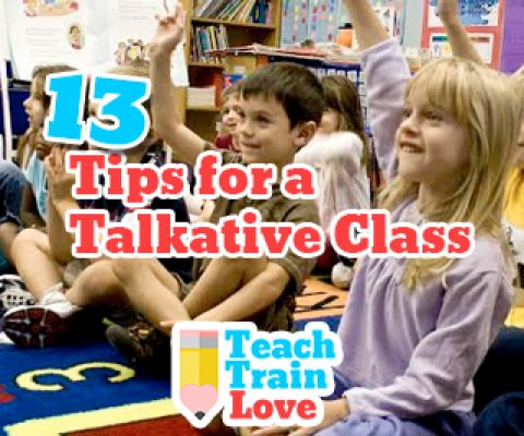 13 Tips for a Talkative Class