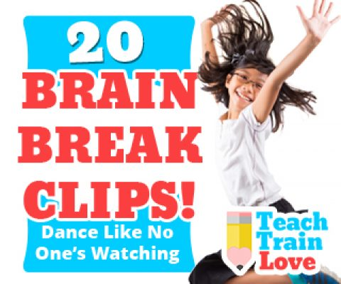 20 Brain Break Clips:  Dance Like No One's Watching!