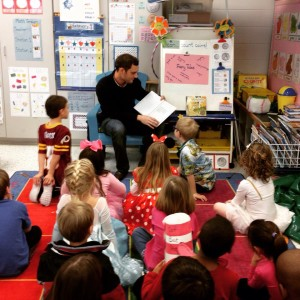 Scott as Guest Reader