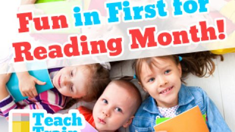 Fun in First for Reading Month!