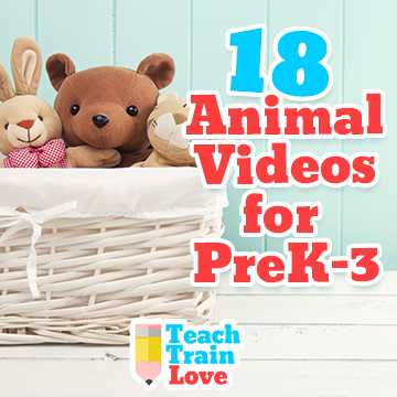 18 Animal Videos for PreK-3