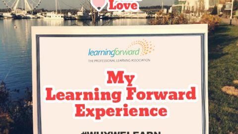 My Learning Forward Experience