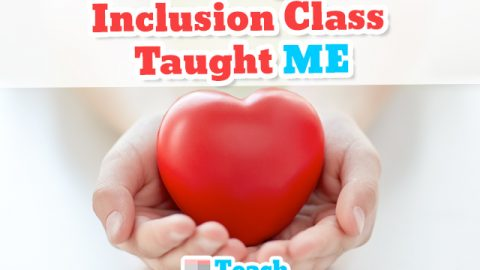 Teaching the Inclusion Class Taught ME